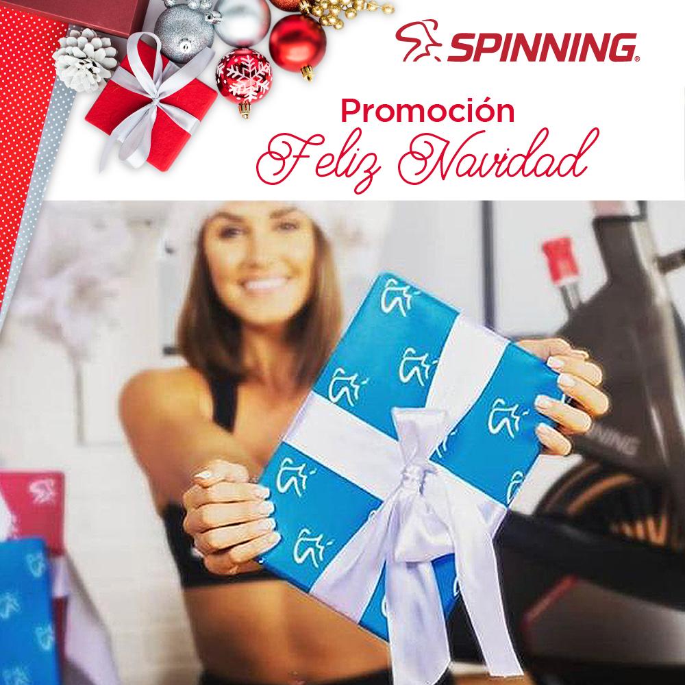 spinning promo navidad