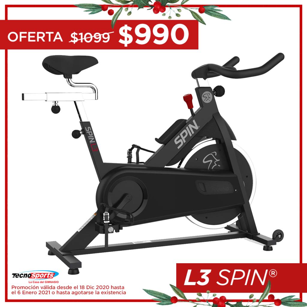 L3 SPIN Bicicleta de SPINNING para hogar