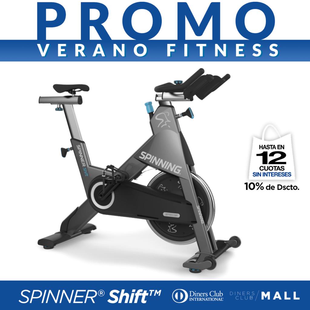 Promo Verano Fitness Spinner Shift
