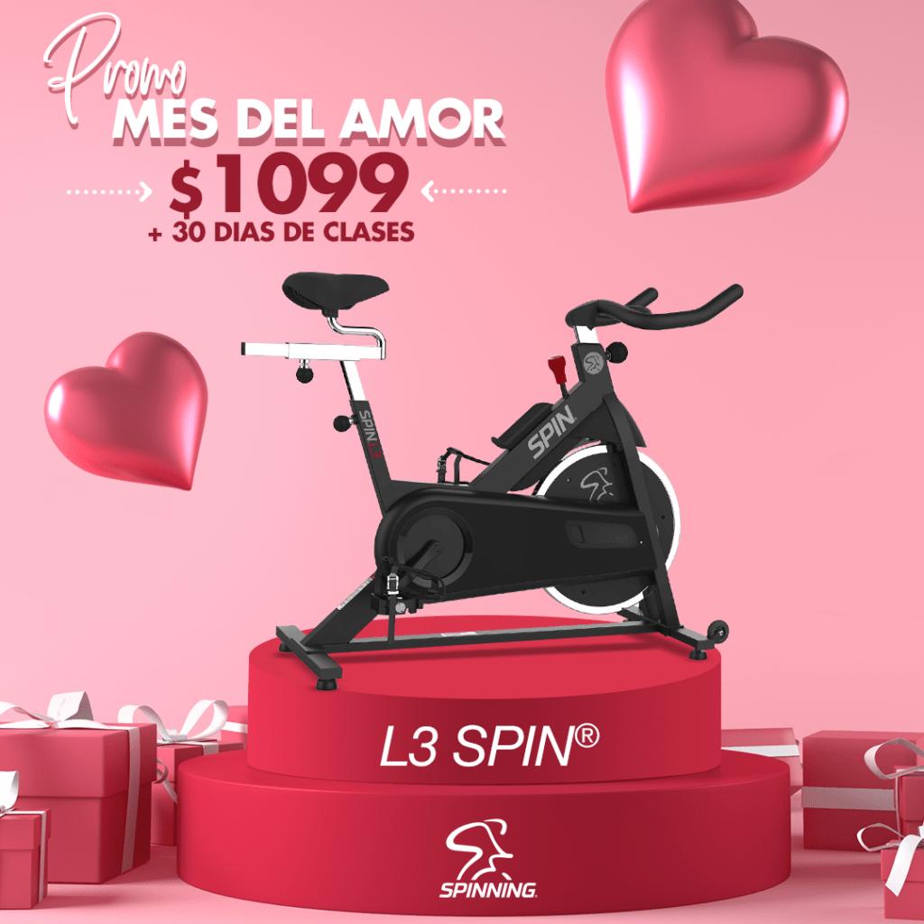 L3 SPIN Promo del Mes del Amor y la Amistad 2021 con 30 días de clases On-Line en vivo gratis.