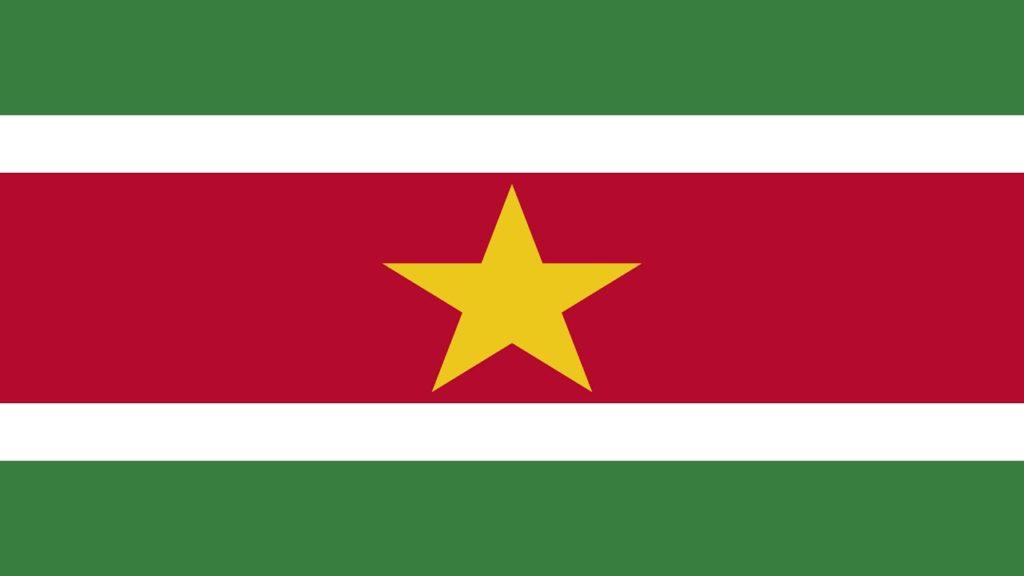 SURINAM FLAG